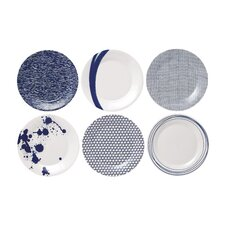 "Pacific 9"" Accent Plates (Set of 6)"