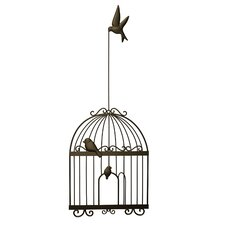 Bird Cage Wall Decor