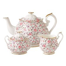 Rose Confetti 3 Piece Teapot Set