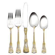 Old Country Roses 20 Piece Flatware Set