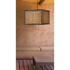 Blossom 1 Light Outdoor Pendant