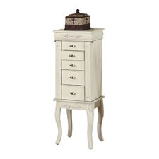 Morris Jewelry Armoire with Mirror