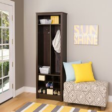 "13"" Deep Space-Saving Hall Treer with Shoe Storage"