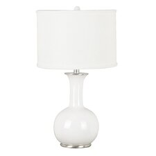 "Mimic 25"" H Table Lamp with Drum Shade"