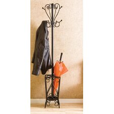 Coat Rack with Umbrella Stand