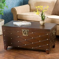 Cainhoe Nailhead Trunk Coffee Table