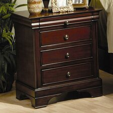 Maquon 3 Drawer Nightstand