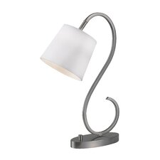 """Wilson 21"""" H Table Lamp with Empire Shade"""