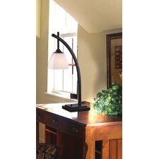 "Structure 24"" H Table Lamp with Square Shade"