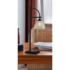 "Arch 28"" H Table Lamp with Square Shade"