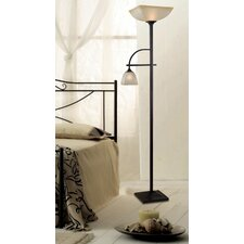 "Arch Mother and Son 70"" Torchiere Floor Lamp"