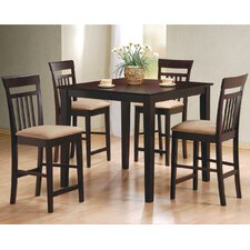 St. Brigid 5 Piece Counter Height Dining Set