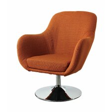 Lounge Chair in Orange