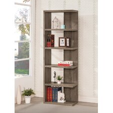 "70.75"" Accent Shelves Bookcase"
