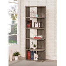 """70.75"""" Accent Shelves Bookcase"""