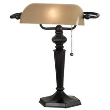 "Chesapeake Bankers 15.25"" H Table Lamp with Rectangular Shade"