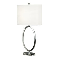 "Linus 30.5"" H Table Lamp with Drum Shade"