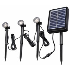 Seriously Solar LED Landscape Lighting Kits Set of 3