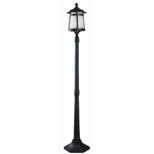 "Portable Post 1 Light 69"" Post Lantern Set"