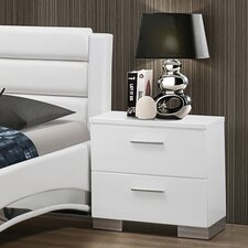 Felicity 2 Drawer Nightstand
