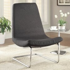 Slipper Chair in Black