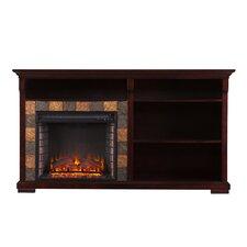 Stanwood Bookshelf Electric Fireplace