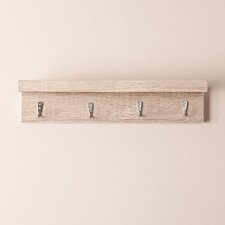Alex Wall Mount Shelf with Hooks
