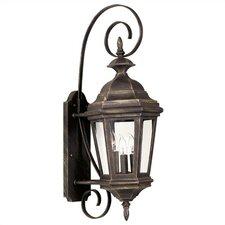 Estate 3 Light Outdoor Wall Lantern
