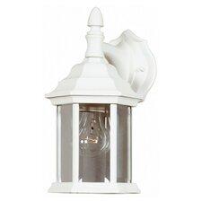 Custom Fit 1 Light Outdoor Wall Lantern