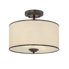 Khloe 2 Light Semi Flush