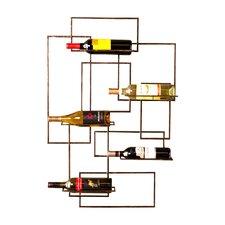 Declan 5 Bottle Wall Mounted Wine Rack