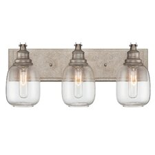 Fall River 3 Light Bath Vanity Light