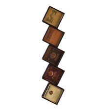 Breckyn 5 Bottle Hanging Wine Rack