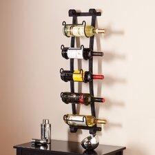 Cimarron 5 Bottle Wall Mounted Wine Rack