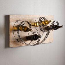 Estancia 4 Bottle Wall Mounted Wine Rack