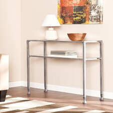 Haycock Console Table with Glass Top
