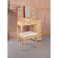 Woodway Vanity Set with Mirror
