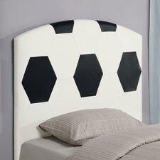 Bowdoin Soccerball Twin Upholstered Headboard