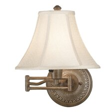Amherst 1 Light Swing Arm Wall Lamp