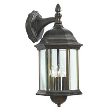 Custom Fit 3 Light Outdoor Wall Lantern