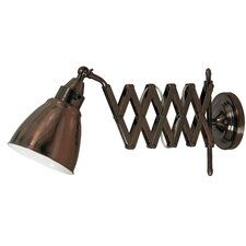 Floororen Swing Arm Wall Light with Finish Option