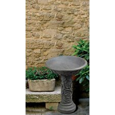 Saffron Outdoor Bird Bath