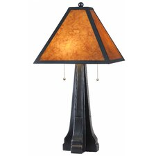 """Bellini 27.75"""" H Table Lamp with Empire Shade"""