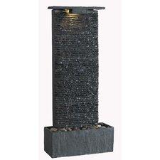 Bedrock Falls Slate Tabletop/Wall Fountain