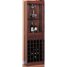 Bar Unit with Wine Storage