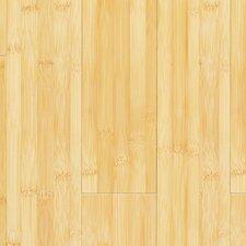 "Glueless Locking 5-1/4"" Engineered Bamboo Hardwood Flooring in Horizontal Natural"