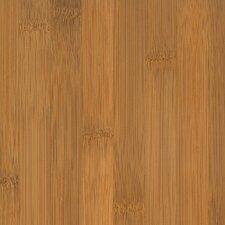 "Glueless Locking 5-1/4"" Engineered Bamboo Hardwood Flooring in Horizontal Spice"