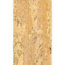 """4-1/8"""" Engineered Cork Hardwood Flooring in Corona Natural"""