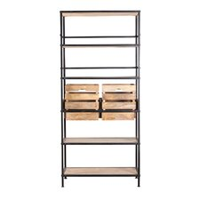 "Westergard 87"" Accent Shelves Bookcase"