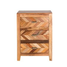 Jonathan 3-Drawer Nightstand